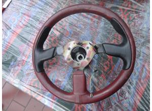 Leather steering wheel sport version Ferrari 348