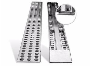 BRAND NEW Aluminium punched decking ramps for recovery trucks / plant / trailer 2.5m