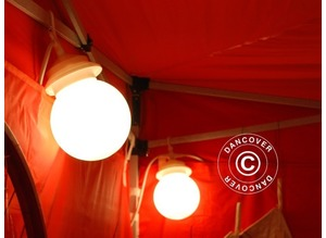 LED Globe light string 6 lamps