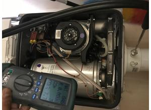 Boiler service gas safety inspection