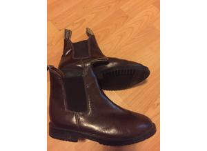 horse riding boots rhinegold size 3