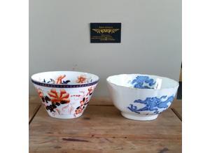 2x antique Coalport bowls/vases c1881-1891