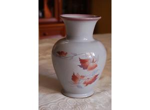 Lovely Denby Twilight Vase, in Perfect Condition & Antique Copeland Leaf Bonbon Dish in VGC