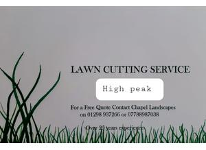 High peak  Lawn & Hedge cutting