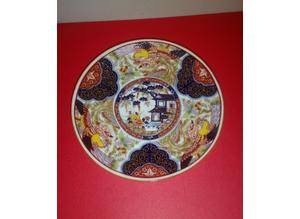 Small Chinese plate/hand painted