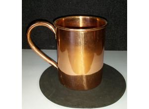 copper mugs x 2