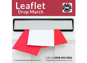 Leaflet Drop March