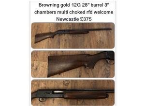 Browning gold 12G