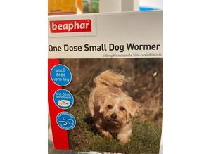 One Dose small dog wormer