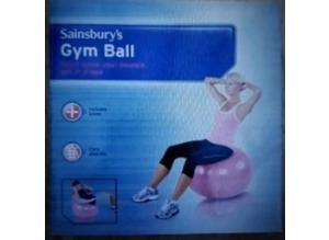 Sainsbury gym ball