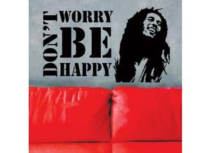 Bob Marley Vinyl Wall Stickers Home Art Decor