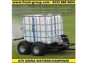 Arena Waterer - Arena Dampener - Water Trailer - Horse Arena Waterer