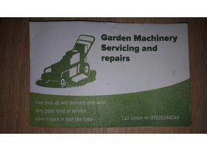 Garden machinery sirvice and repairs