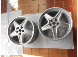 Rear wheel rims for Ferrari 512 Tr