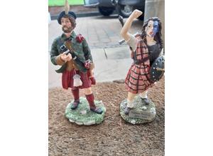 Scottish Heritage Historic Figurines