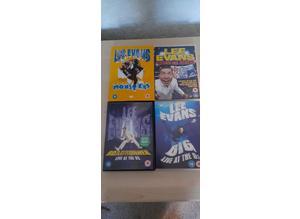 Lee Evans DVDs