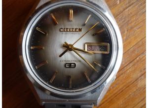 VINTAGE GENTS CITIZEN COSMOTRON ELECTRONIC WATCH