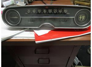 Instrument panel for Alfa Romeo GIulietta