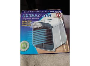 Chilly air . Air cooler