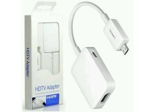 Brand New Genuine Samsung MHL to HDMI HDTV Adapter For Galaxy S5 S4 S3 Note 2 3 4 etc White