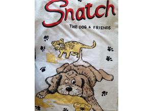 Snatch the dog bath towel x 2