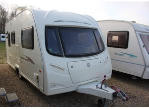 Avondale Golden Avocet 2008 2 Berth Caravan + Full Awning + 3 Months Warranty Included