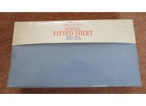 Brand New Single Fitted Sheet [Light Blue]