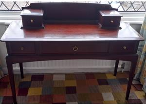 Stag Minstrel Writing Table Desk, Excellent Condition