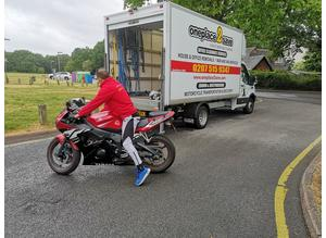 Reliable Motorcycle Transportation