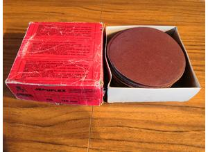 92 x Mirka Jepuflex 150mm Heavy Duty Metal Sanding Discs, Grit 180, No:- 66850
