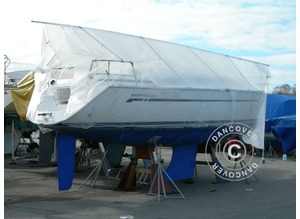 Deck frame for boat cover, NOA, 9 m