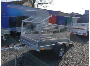 BRAND NEW 6X4 TRAILER WITH 60CM MESH AND RAMP
