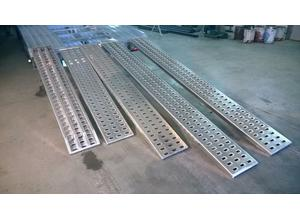 BRAND NEW Aluminium punched decking ramps for recovery trucks / plant / trailer 3m in Fife