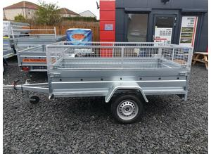 BRAND NEW 7.7 x 4.2 SINGLE AXLE TRAILER WITH 40CM MESH in Fife