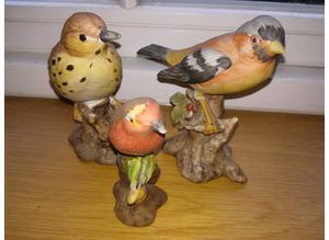 Capodimante Ceramic Birds & Another