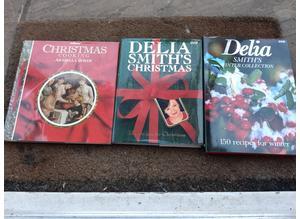 Christmas Cookery Books x 3