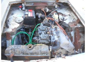 Engine and gearbox for Lancia Fulvia coup 1.3 type 818.303