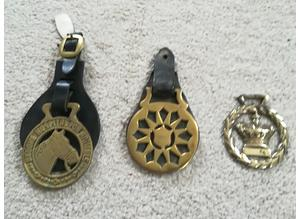 Small Collection Of 3 Different Horse Brasses