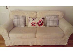 Free to collector two and three seater suite.