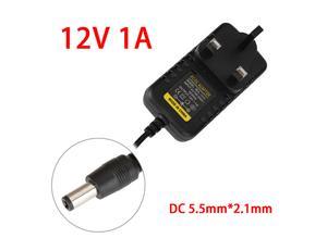 100- 240v AC to 12V DC 1 Amp Power Supply Adapter