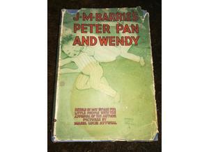 J.M Barrie's Peter Pan & Wendy 1930 Book