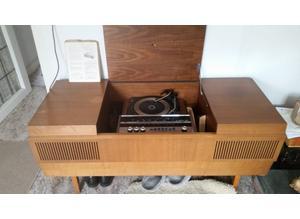 HMV late 60's Radiogram/record player