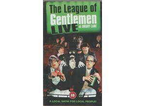 THE LEAGUE OF GENTLEMEN LIVE AT DRURY LANE VHS 2001. LIKE NEW - PLAYED ONCE ONLY