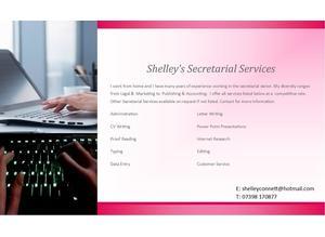 Shelley's Secretarial Services