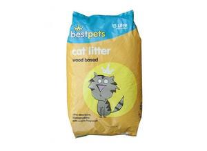 15ltr Best Pets Cat Litter Wood