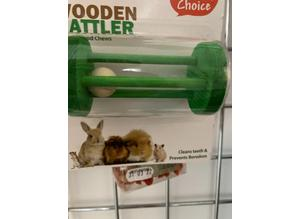 small animal Wooden Rattler
