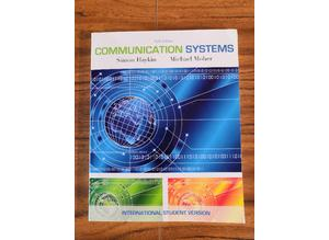 Communication Systems, Simon S. Haykin (Paperback, 2009), TextBook 9780470169964