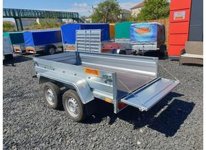 BRAND NEW MODEL 7.7x4.2 DOUBLE AXLE TRAILER FLAT TIPPING