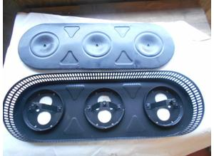 Air filter housing for Ferrari 250 Gte