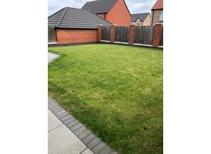 Gardening lawn mowing service